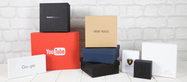 scatole personalizzabili